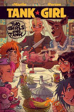 Tank Girl : Two Girls One Tank #3 by blitzcadet
