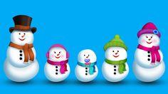 The Finger Family Snowman Family Nursery Rhyme | Christmas Finger Family... Merry Christmas!