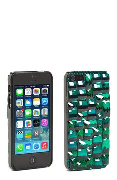 Natasha Couture 'Be Glitzy' iPhone 5 Case available at #Nordstrom