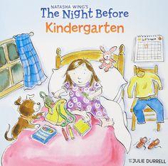 The Night Before Kindergarten [Paperback] [Jul 09, 2001] Wing, Natasha and Du]