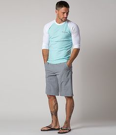Hurley Phantom Vertigo Walkshort - Men's Shorts   Buckle