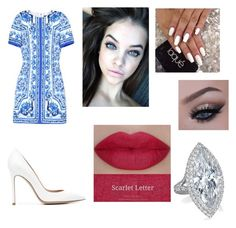 """Untitled #119"" by regina-louisse ❤ liked on Polyvore featuring Dolce&Gabbana, Gianvito Rossi and She's So"