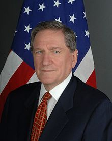 Wikipedia.org/ Richard Charles Albert Holbrooke-- (1941- 2010) was an American diplomat, magazine editor, author, professor, Peace Corps official, and investment banker. He was the only person to have held the position of Assistant Secretary of State for two different regions of the world (Asia from 1977 to 1981 and Europe from 1994 to 1996).