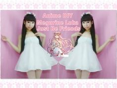 Anime Vocaloid DIY - Megurine Luka Just Be Friends Dress/Costume(Easy) - YouTube