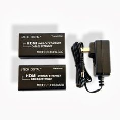 J-Tech Digital HDMI Extender by CAT 5E/6/7 (The latest & the best) Ver 1.3 Certified for Full HD 1080P with Deep Color & HD Audio and Max Bandwidth of 10.2Gbps by J-Tech Digital, http://www.amazon.com/dp/B003EE8OL6/ref=cm_sw_r_pi_dp_tr8-rb0FED24X