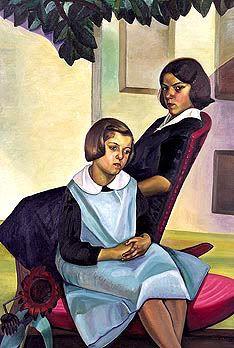 Sisters of Rural Quebec by Prudence Heward, 1930