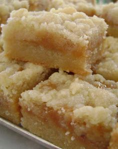 Finish off dinner for dad with dessert. Salted Carmel Butter Bars #wearedads #wearehungry