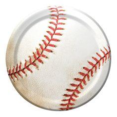 Sports Fanatic Baseball 7 inch Lunch Plates/Case of 96 @Crowdz