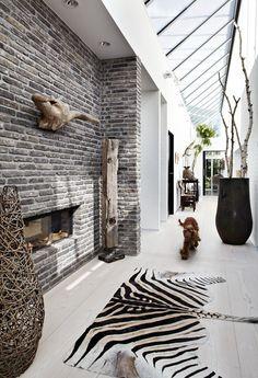 Hallway At The House In Hedensten By Jesper Therkildsen Arkitekter Photography By Tim Wahlfried