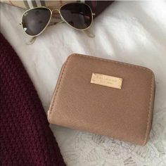 | New | Tan chunky wallet Brand new tan chunky wallet, two zipper compartments. Multiple card slots plus zipper coin pouch, perfect everyday wallet. BUNDLE & SAVE 25% ❌ TRADES ❌ Bags Wallets