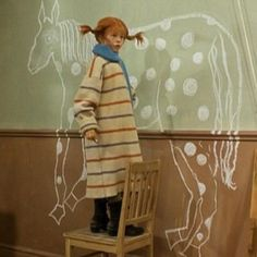 Pippi, Wall painting