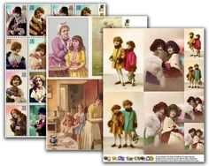 Free Images & Collage Sheets