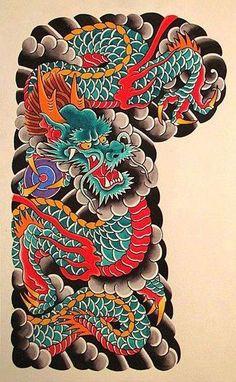 Chinese dragon sleeve tattoos & chinesischer d . - Chinese dragon sleeve tattoos & chinese dragon sleeve tattoos & t - Japanese Tattoo Koi, Japanese Dragon Tattoos, Japanese Tattoo Designs, Japanese Sleeve Tattoos, Koi Dragon Tattoo, Dragon Sleeve Tattoos, Dragon Tattoo Designs, Arrow Tattoo, Tatto Ink