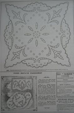 ru / Фото - La Broderie Blanche - bird-of-heart Hand Embroidery Designs, Vintage Embroidery, Embroidery Patterns, Machine Embroidery, Hardanger Embroidery, Cross Stitch Embroidery, Outline Designs, Monogram Design, Arte Popular