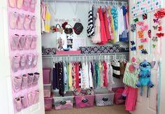 Walk In Closet Designed for Girl