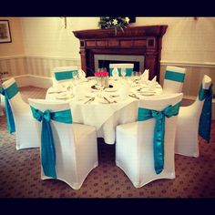 chair cover hire yorkshire best office for back support 32 covers by lovely weddings images teal satin bows with white stretch at wheetwood hall in leeds