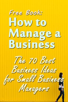 This guide features a whopping 70 business strategies and ideas that cover a variety of essential business situations. It will teach you scores of tricks, secrets and shortcuts -- and teach them so that you can start using them at once. This guide does far more than impart knowledge... it inspire action. See: http://www.belgotec.com/business/how-to-manage-a-business.htm