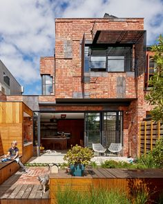 "The Cubo House, additions to a heritage listed double storey building by Melbourne architecture firm Phooey. Why Cubo? ""The project applies the surrealist technique of ""Cubomania"" to catalogue, re-use & re-invent the demolished building materials."