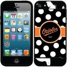 Baltimore Orioles MLB Iphone 5 Polka Dot Guardian Case (Black)