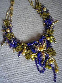 Beadwoven jewelry by Oksana Kameneva - freeform