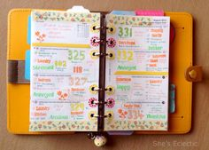 She's Eclectic: My week in my Filofax #34