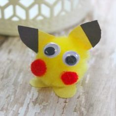 Pokemon Go Pikachu Craft for Kids If your children are a fan of Pokemon GO this Pikachu craft for kids is simple, easy, and cheap to make!If your children are a fan of Pokemon GO this Pikachu craft for kids is simple, easy, and cheap to make! Pokemon Go Crafts, Easy Pokemon, Pokemon Party, Pokemon Birthday, Pokemon Games For Kids, Pokemon Pokemon, Crafts For Kids To Make, Craft Activities For Kids, Diy And Crafts