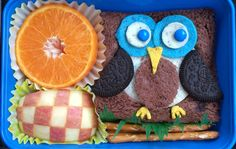 How to make an OWL bento for your lil' one.
