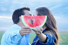 Our watermelon engagement pictures ☺️