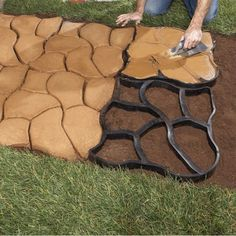 Building Walks and Patios with a Concrete Mold