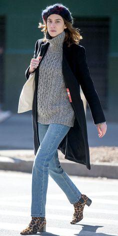 Alexa Chung's Street Style | InStyle.com