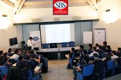 Luca Pisano #SanBenedetto durante la sua testimonianza alla classe della #Xedizione del #mastersbs