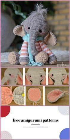 Pin on Free amigurumi crochet patterns | 472x236