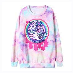Harajuku pony sweatshirt sweater