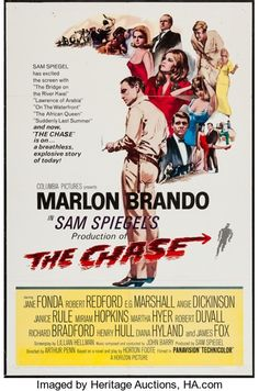 """Movie Posters:Drama, The Chase (Columbia, 1966). One Sheet (27"""" X 41""""). Drama.. ..."""