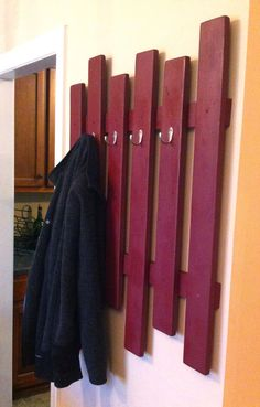 Coat rack - I could so make that!
