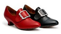 Kensington Leather Shoes in red of course!