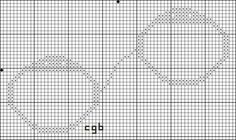 Free Expressive Motifs Cross Stitch Patterns: Free Handcuffs Cross Stitch Pattern