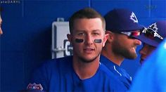"atedaryl: "" 03/05/2016: PHI @ TOR So… apparently Tulo doesn't need Taz to be adorable. Taz was just a bonus. But honestly, he look happy doesn't he? "" #2 – All Smiles Troy Tulowitzki is a handsome man. This GIF is but one of many facts to support..."