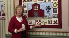 Quilt Blocks on American Barns - Monitor Barn with Hole in the Barn Door