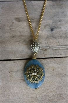 Sea Stone Necklace by Lenora Dame $88