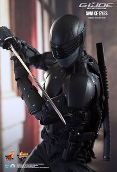 Hot Toys : G.I. Joe Retaliation - Snake Eyes Collectible Figure 1/6th scale Collectible Figure
