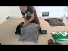 Como arrumar a mala sem deixar as roupas amassadas! #dicadodia #dica #mala #rsbags #informação #roupas #viajar
