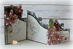 Black Friday Blog Hop with Heartfelt Creations featuring the new foldout cards and the Sparkling Poinsettia...