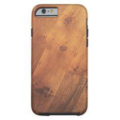 iPhone 6 Modern Stylish Wood Grain Wood Look