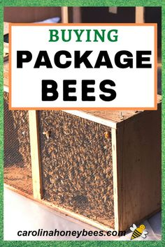 Learn how to buy the best bee packages for your beehives.