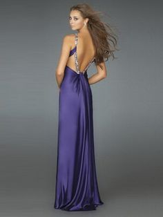 Sheath / Column Straps Beading  Sleeveless Floor-length Elastic Woven Satin Prom Dresses / Evening Dresses