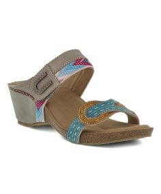 Take a look at this Gray Rinjani Leather Sandal today!
