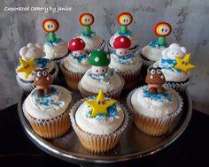 Mario Brothers Cupcakes