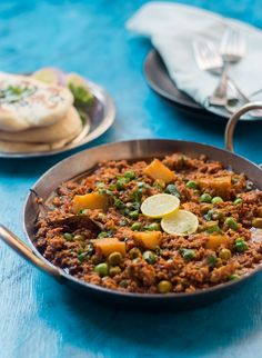 Mutton Keema or Spiced Lamb Mince Curry Recipe. Spicy, flavorful Mutton Keema recipe. Goes best with naan, rice or bread.
