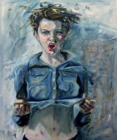 Figurative work with an expressive touch